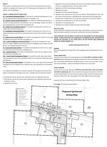 Zoning Bylaw Public Notice