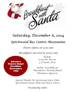Breakfast with Santa @ Mezzanine