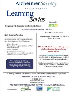 Alzheimer Society Learning Series