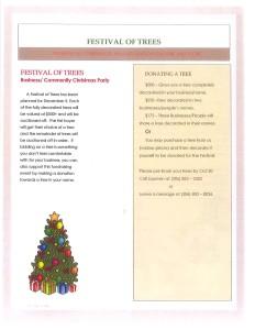 Festival of trees 2015-2
