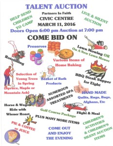 talent auction2016