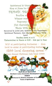 Spiritwood And District Annual Shop At Home For Christmas Cash @ Main Street Spiritwood