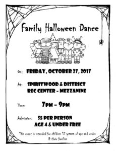 Family Halloween Dance