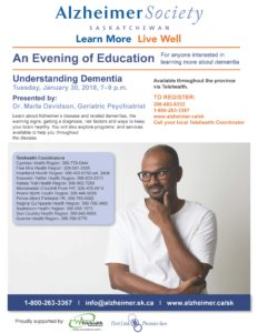 An Evening of Education- Understanding Dementia