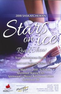Stars On Ice Roadshow @ Spiritwood Arena