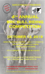 4th Annual BRC Bull Riding @ Spiritwood Rec Centre