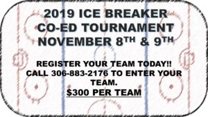 Ice Breaker Tournament @ Spiritwood Rec Centre