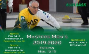CurlSask Men's Masters Qualifier