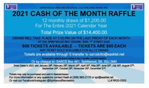 Cash of the Month Draw